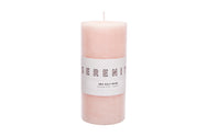 Pillar Candle - Sea Salt Rose