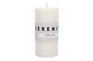 Pillar Candle - Summer Linen