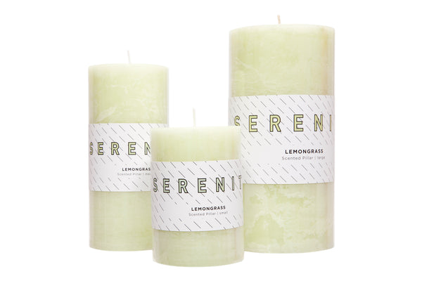 Pillar Candle - Lemongrass