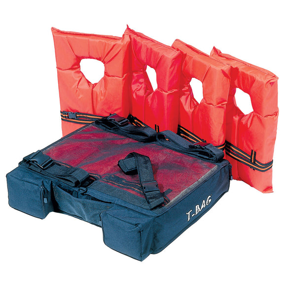 AIRHEAD T-BAG T-Top Bimini Top Storage Pack - Holds 4 Type II PFDs [PFDT-4]