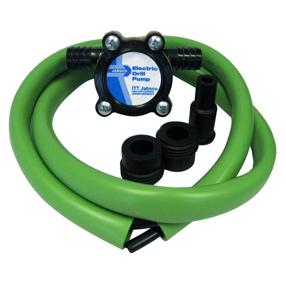Jabsco Drill Pump Kit w-Hose [17215-0000]