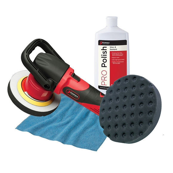 Shurhold Dual Action Polisher Start Kit w-Pro Polish, Pad & MicroFiber Towel [3101]