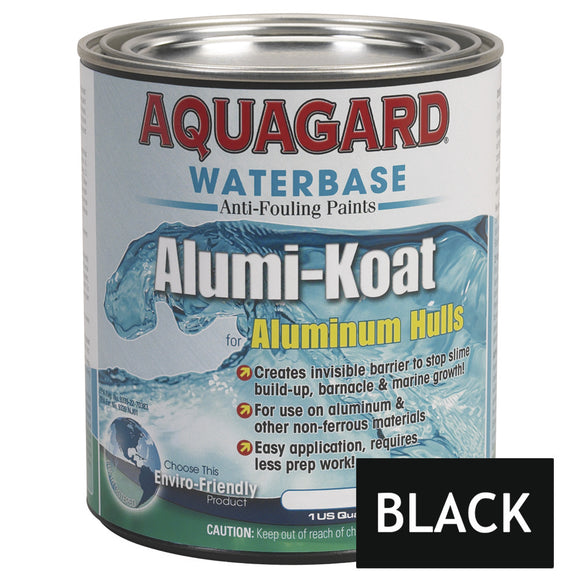 Aquagard II Alumi-Koat Anti-Fouling Waterbased - 1Qt - Black [70001]