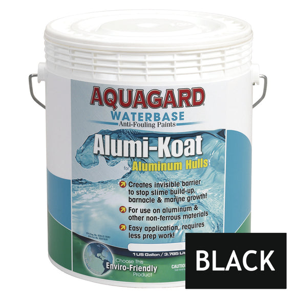 Aquagard II Alumi-Koat Anti-Fouling Waterbased - 1Gal - Black [70101]