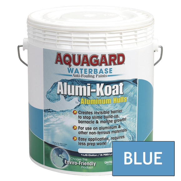 Aquagard II Alumi-Koat Anti-Fouling Waterbased - 1Gal - Blue [70106]