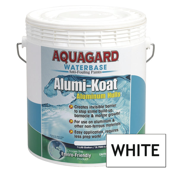 Aquagard II Alumi-Koat Anti-Fouling Waterbased - 1Gal - White [70107]