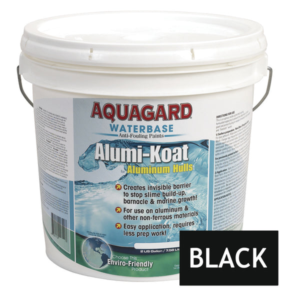 Aquagard II Alumi-Koat Anti-Fouling Waterbased - 2Gal - Black [70201]