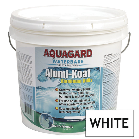 Aquagard II Alumi-Koat Anti-Fouling Waterbased - 2Gal - White [70207]