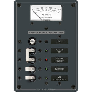 Blue Sea 8102 ELCI GFCI Panel AC 2 Position [8102]
