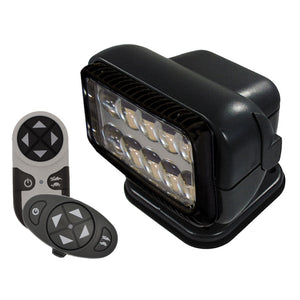 Golight Permanent RadioRay LED w-Wireless & Dash Remote - Black [20574]