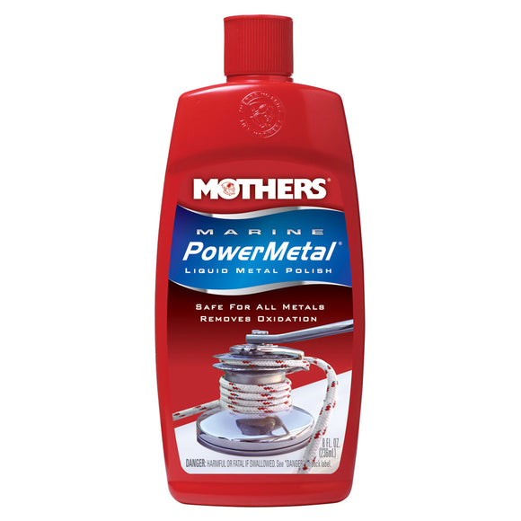 Mothers Marine PowerMetal Liquid Polish - 8oz [91048]
