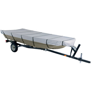 "Dallas Manufacturing Co. 300D Jon Boat Cover - Model B - Fits 14' w-Beam Width to 70"" [BC21013B]"