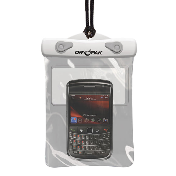 Dry Pak GPS-PDA-Smart Phone Case - White-Grey - 5