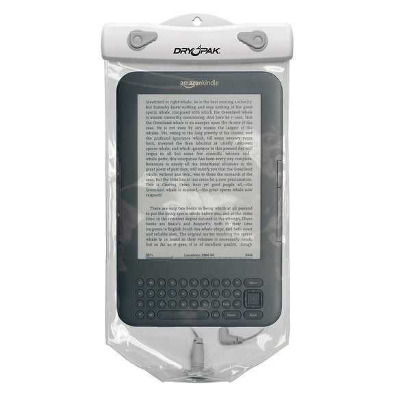 Dry Pak Clear Tablet Case f-Kindle White-Grey - 6
