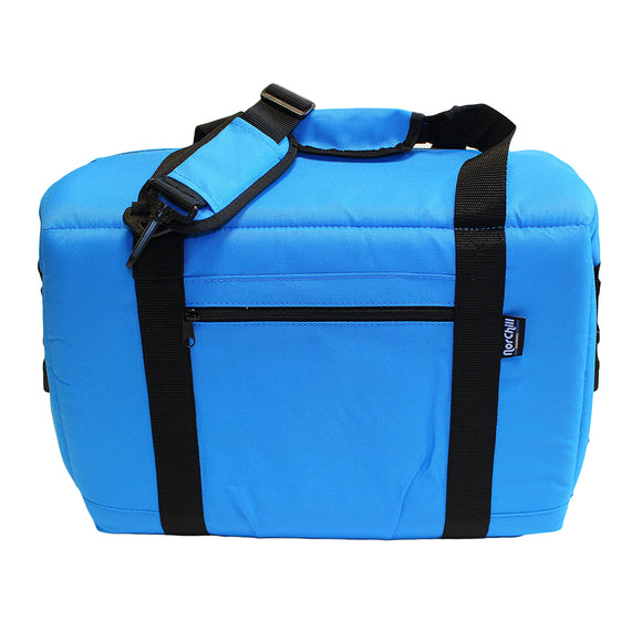 NorChill 12 Can Soft Sided Hot-Cold Cooler Bag - Blue [9000.41]