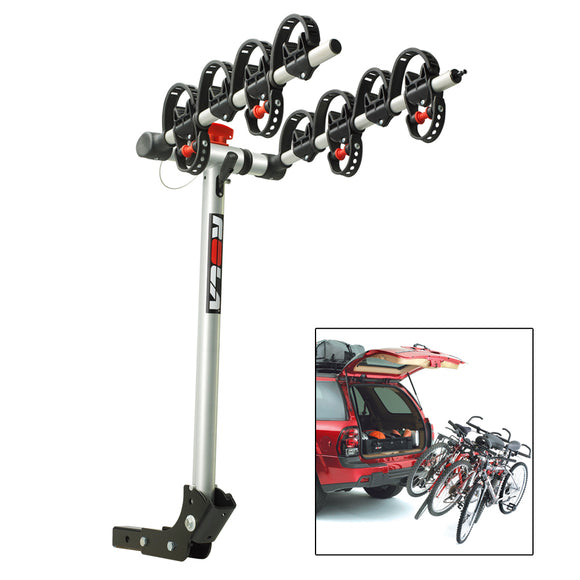 ROLA Bike Carrier - TX w-Tilt & Security - Hitch Mount - 4-Bike [59401]