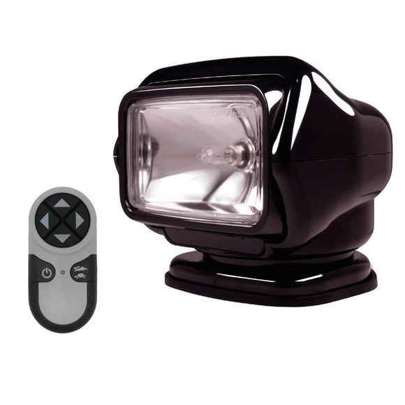 Golight Stryker Searchlight w-Wireless Handheld Remote - Magnetic Base - Black [30512]