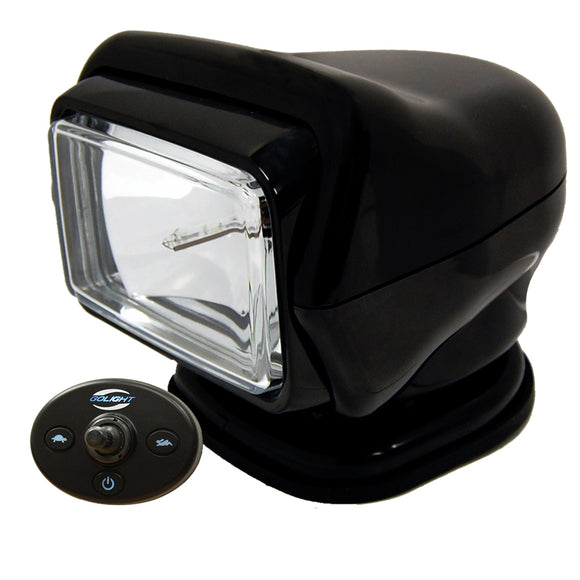 Golight HID Stryker Searchlight w-Wired Dash Remote - Permanent Mount - Black [30211]