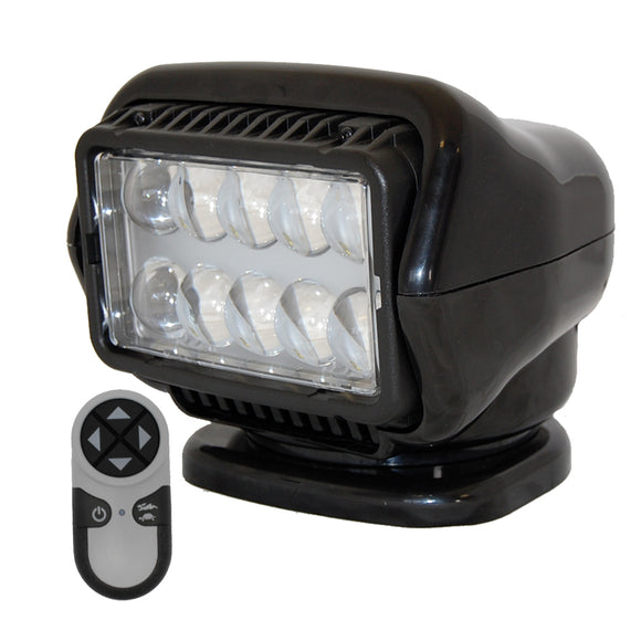 Golight LED Stryker Searchlight w-Wireless Handheld Remote - Magnetic Base - Black [30515]