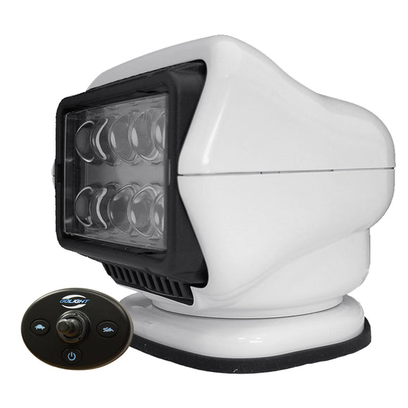 Golight LED Stryker Searchlight w-Wired Dash Remote - Permanent Mount - White [30204]