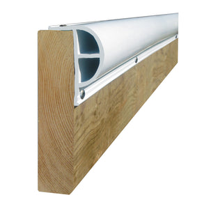 "Dock Edge PRODOCK Heavy ""P"" Dock Profile - (3) 8' Sections - White [1200-F]"