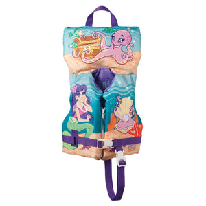 Full Throttle Character Vest - Infant-Child up to 50lbs - Mermaid [104200-505-000-14]
