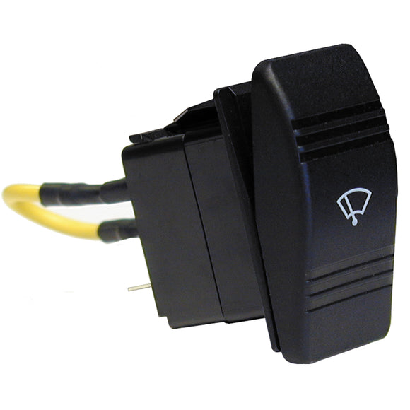 Ongaro Wiper Switch - 3-Position Rocker [40400]
