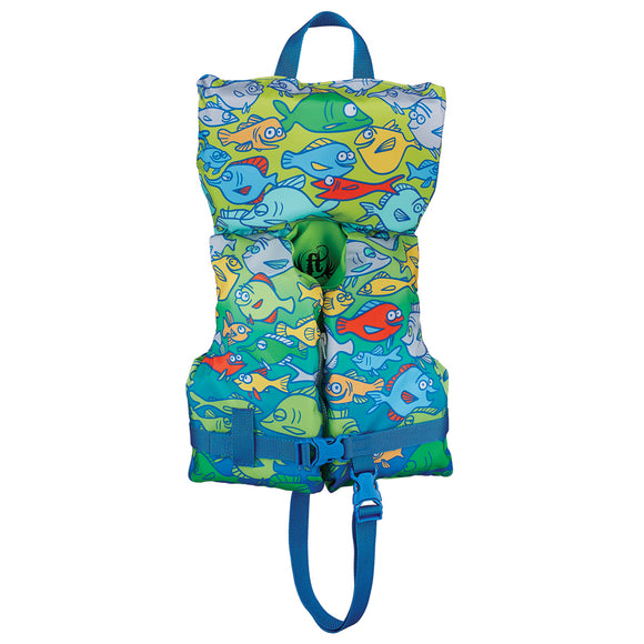 Full Throttle Character Vest - Infant-Child Less Than 50lbs - Fish [104200-500-000-15]