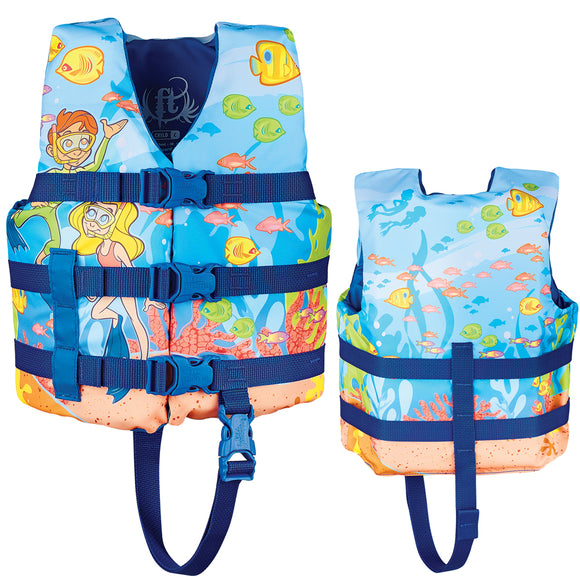 Full Throttle Character Life Vest - Child 30-50lbs - Snorkle [104200-500-001-15]