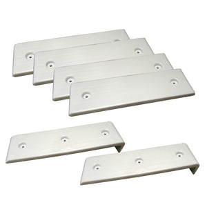 "Ironwood Pacific Outdoors E-Z Slide Kit #2 - 4 White Pads(3""W x 10""L) w-2 BunkEnders [013.1W]"