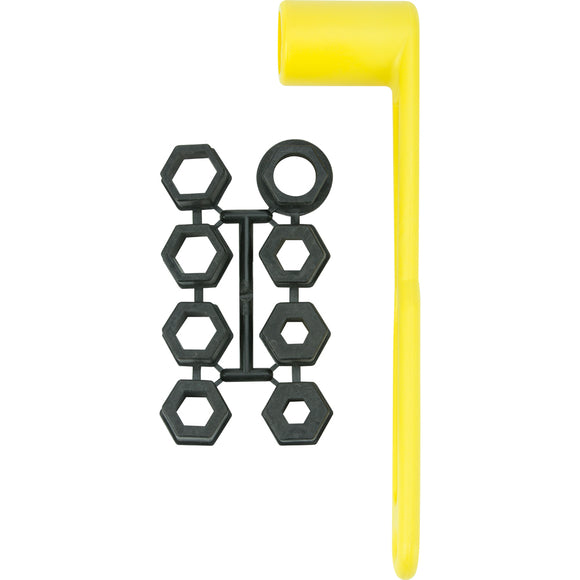 Attwood Prop Wrench Set - Fits 17-32