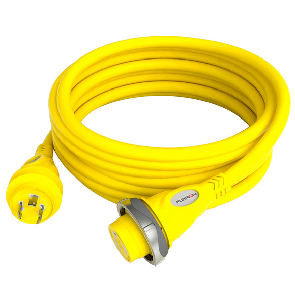 Furrion 30A 125V Marine Cordset 50ft Yellow [F30C50-SY]