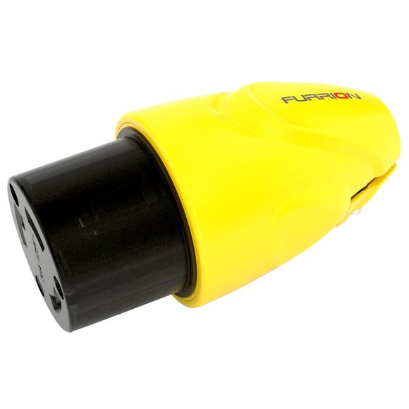 Furrion 30A Female Locking Connector Yellow [F30FMP-SY]