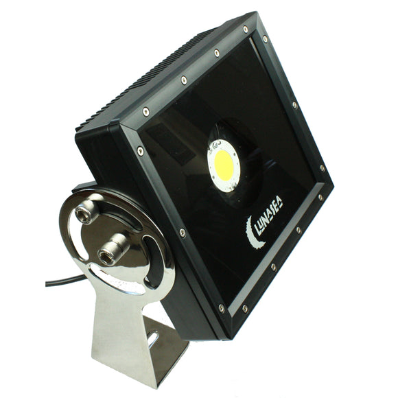 Lunasea Commercial Floodlight Single LED 10,500 Lumens [LLB-60NC-31-10]