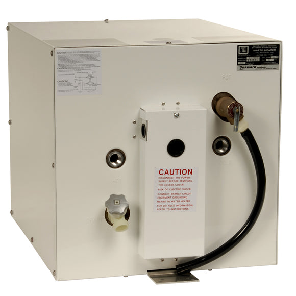 Whale Seaward 11 Gallon Hot Water Heater w-Rear Heat Exchanger - White Epoxy - 120V - 1500W [S1100W]