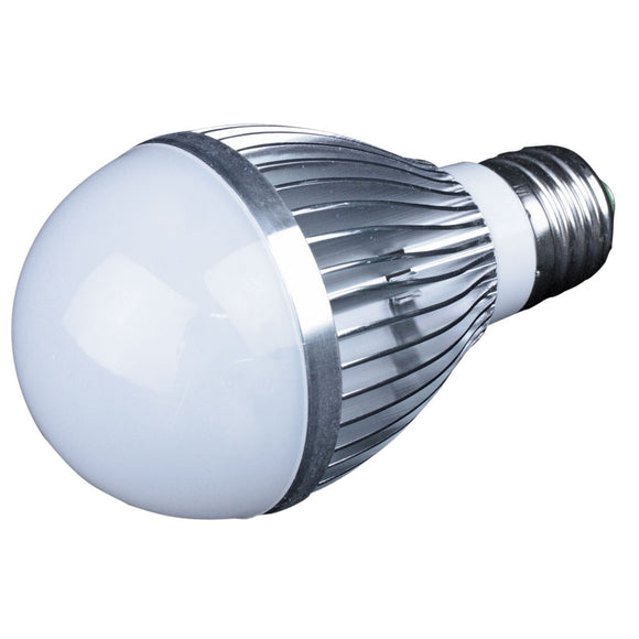 Lunasea E26 Screw Base LED Bulb - 12-24VDC-7W- Warm White [LLB-48FW-82-00]