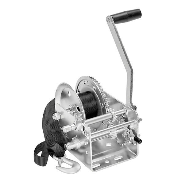 Fulton 2600lb 2-Speed Winch w-20' Strap [142415]