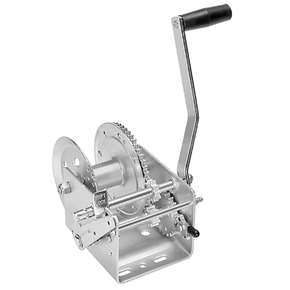 Fulton 2600lb 2-Speed Winch w-Hand Brake [142411]