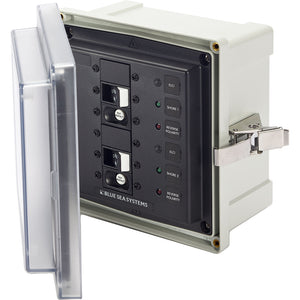 Blue Sea 3117 SMS Surface Mount System Panel Enclosure - 2 x 120V AC - 30A ELCI Main [3117]