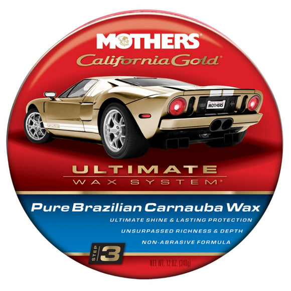 Mothers California Gold Pure Brazilian Carnauba Cleaner Wax [05550]