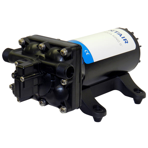 SHURFLO AQUA KING II Supreme 5.0 (24 VDC) Fresh Water Pump w-Strainer  Fittings [4158-163-E75]