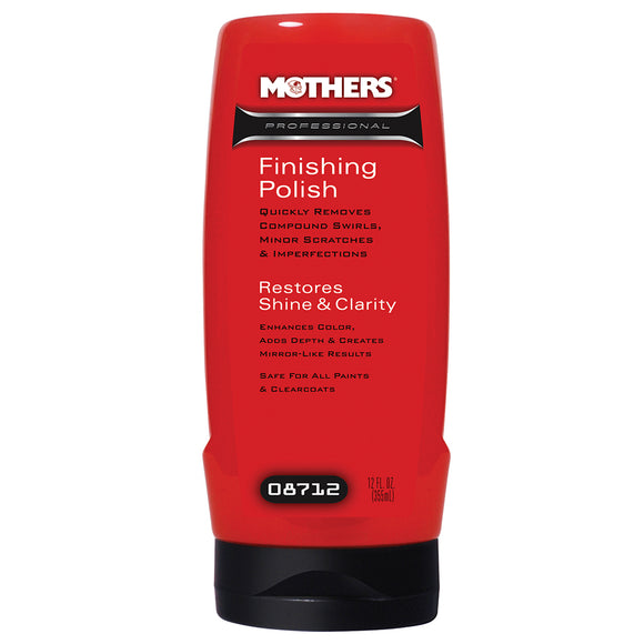 Mothers Professional Finishing Polish - 12oz [08712]