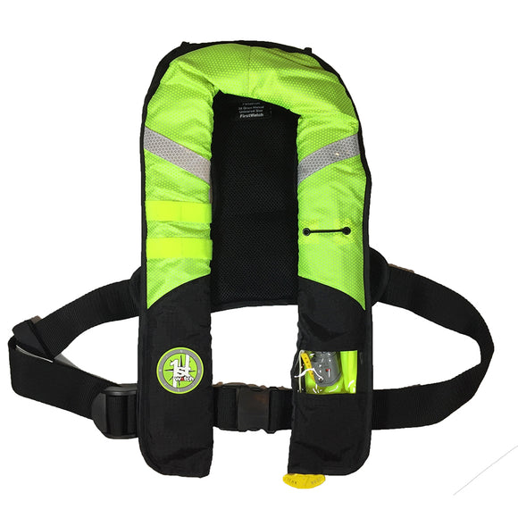 First Watch 38 Gram Pro Inflatable PFD - Automatic - Hi-Vis [FW-38PROA-HV]