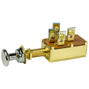 BEP 3-Position SPDT Push-Pull Switch - OFF-ON1  2-ON1  3 [1001305]