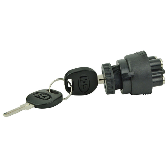 BEP 3-Position Ignition Switch - OFF-Ignition-Accessory-Start [1001607]