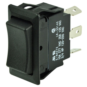 BEP SPDT Rocker Switch - 12V-24V - ON-OFF-ON [1001710]