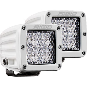 RIGID Industries D-Series PRO Hybrid-Diffused LED - Pair - White [602513]