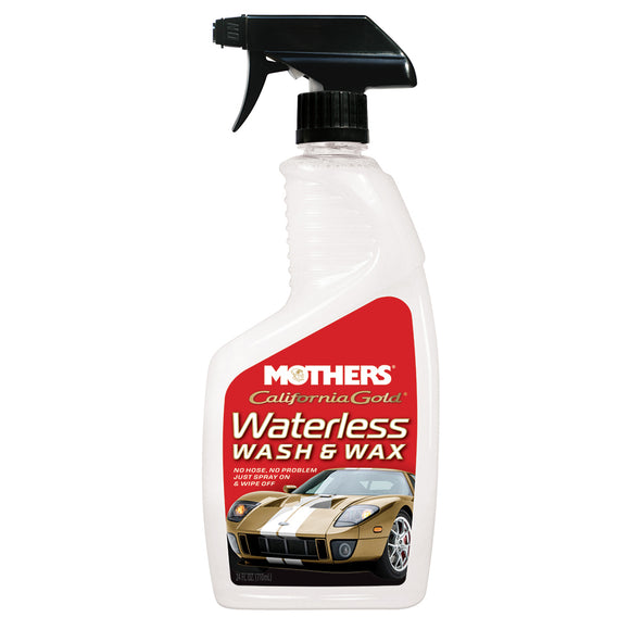 Mothers Waterless Wash And Wax - 24oz Spray - *Case of 6* [05644CASE]