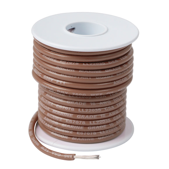 Ancor Tan 16 AWG Tinned Copper Wire - 500 [101850]