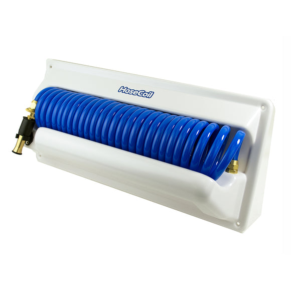 HoseCoil Horizontal Mount Enclosure w-Additional 5 Feeder Hose [HC25H2]